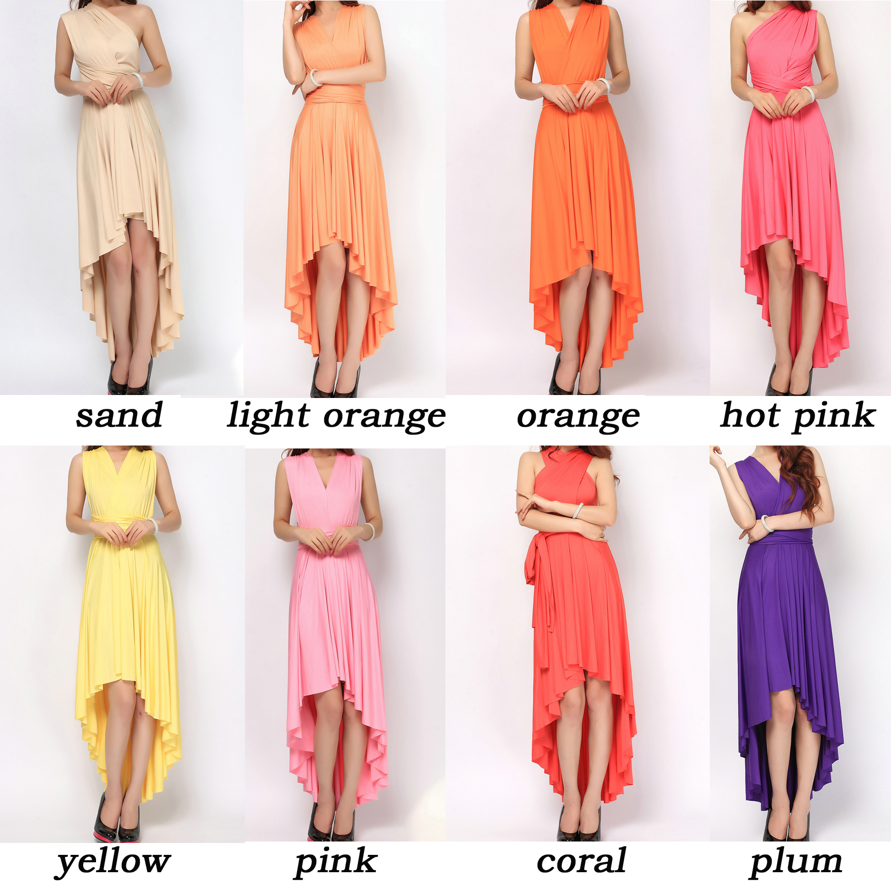 df04b29d1 triangle 2 infinity short infinity maxi 1 high low 2. The dress ...