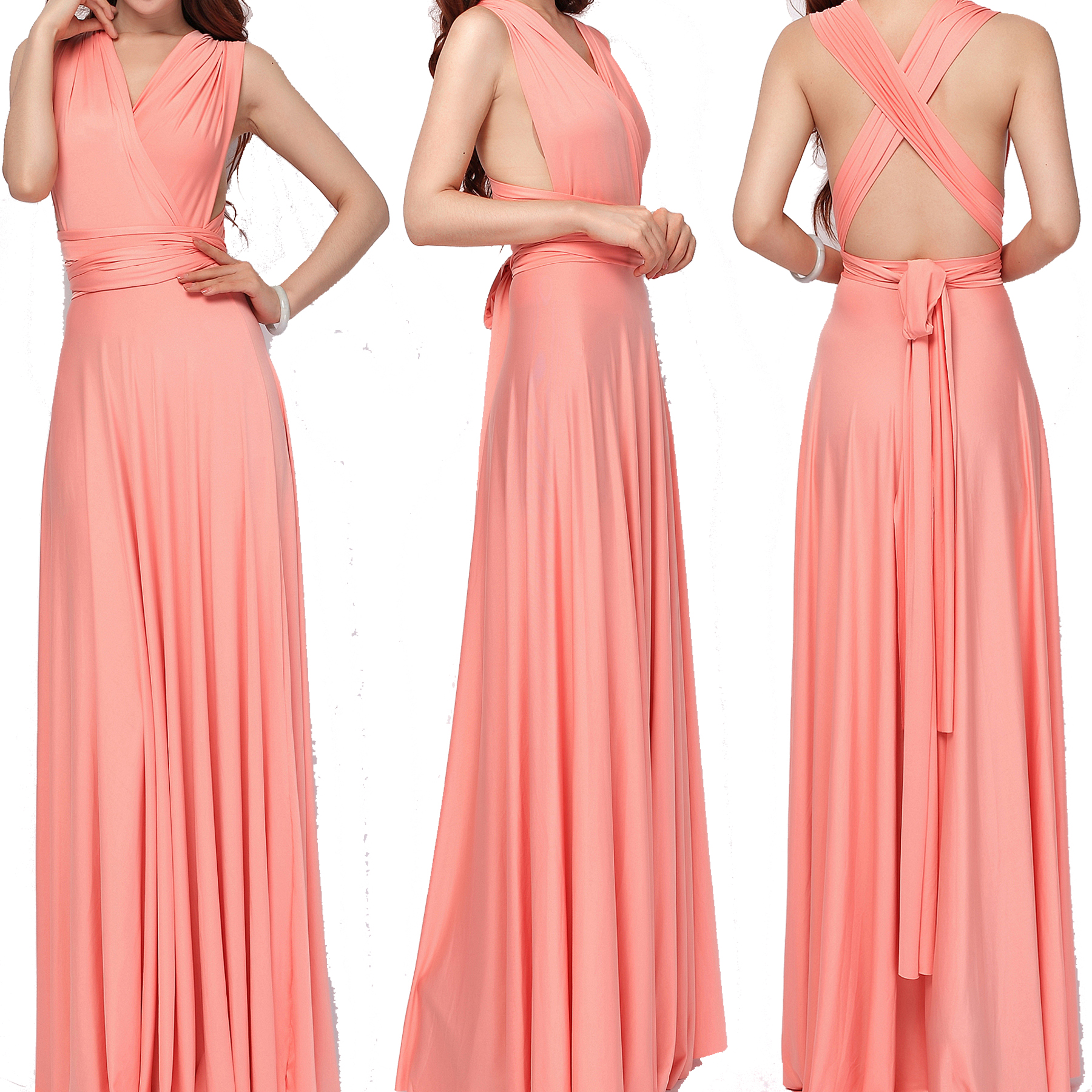 Maxi Infinity Convertible Bridesmaid Dress