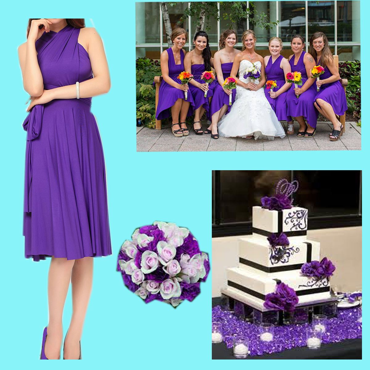 bridesmaid dress | tinnainfinitydress